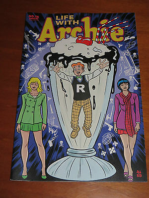 2014 Life With Archie #36 The Death Of Archie Variant Cover Archie In Milk Shake