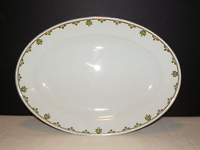 """WH Grindley & Co. 16"""" Oval Serving Platter : England Copley"""