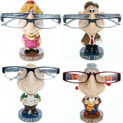 Mum Dad Nan Grandad Comic Funny  Glasses Specs Holder Novelty Gift Present