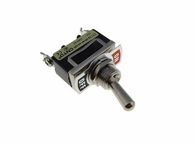 HQ C511B SPST 15A/250V ON-OFF Panel Mount Toggle Switch