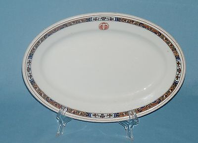 Shenango China New Castle Pa ~ House-Bond Hardware Co. Memphis platter TC