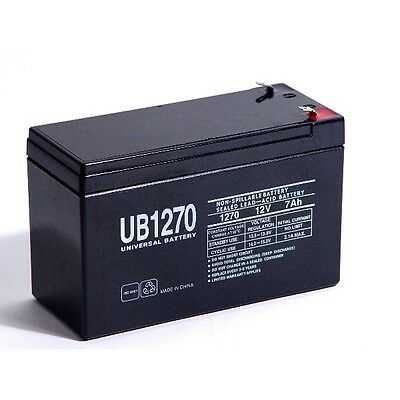 12V 7Ah F1 SLA Replacement Battery for Panasonic LC-RB126R5P
