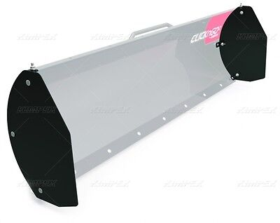 A Pair Of Side Shields For Click N Go Snow Plow Blade  Atv Utv Drift Cutters