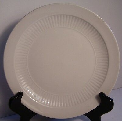 Adams China White Ribbed EMPRESS 1 Salad Plate Made in England
