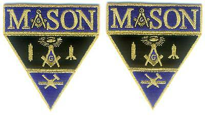 MASON Military Patch Set (Pair)