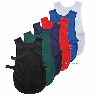 Portwest Tabbard Apron Bib with Pocket Food Catering Cleaning Workwear S843