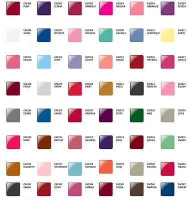 Glam and Glits Nail Design ACRYLIC COLORED POWDER Assorted Colors 300 - 347 1oz