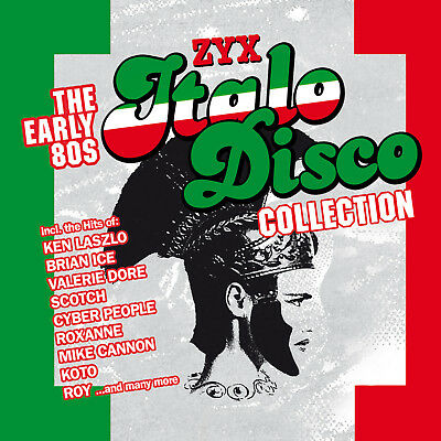 CD ZYX ITALO DISCO COLLECTION The Early 80s by Various Artists 3 CDs