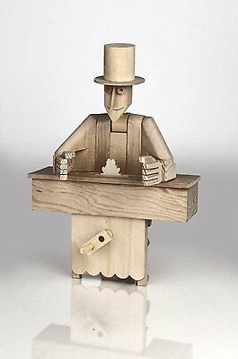 The Magician - Timberkits Self-Assembly Wooden Construction Moving Model Kit