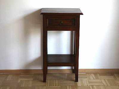 commode dresser new colonial style side table mahogany