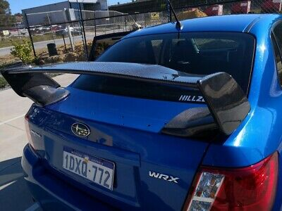Ultrex Carbon Fibre Rear Spoiler My09 -My14 For Subaru Sti, Wrx & Impreza Sedan