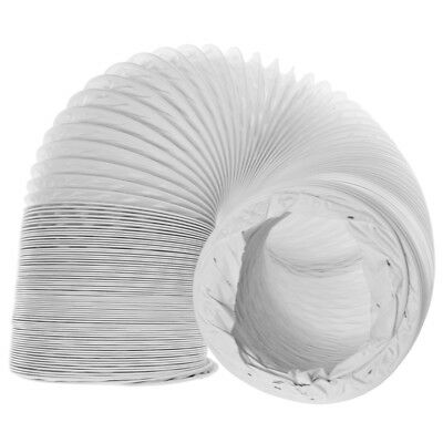 """WHITE KNIGHT Vented Tumble Dryer Hose Condenser Vent Outlet Long Pipe 6m / 4"""""""