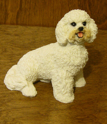 Dog Figurines by Castagna  #890 BICHONE, Made in Italy, NEW From our Retail Shop