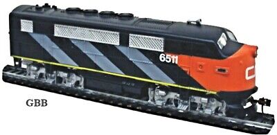 HO 1:87 Scale CANADIAN NATIONAL F2-A Diesel Locomotive Model Power New 96809