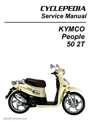 kymco super 8 50 2t scooter service manual printed $36 49 picclick battery warning light wiring diagram for kymco people 50 scooter printed service manual