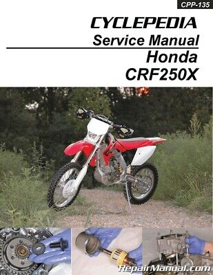 cyclepedia honda xr70 crf70 motorcycle printed service manual rh picclick com honda xr 70 manual pdf honda xr 70 r manual
