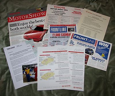 A Collection Of Toyota Promotional Literature