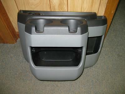 97-10,11,12 Ford Econoline Van Gray Center Console Cup Holder
