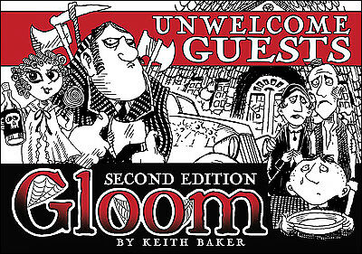 Gloom Unwelcome Guests 2nd Edition Card Game Expansion - Atlas Games