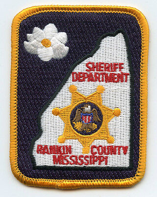 small RANKIN COUNTY MISSISSIPPI MS small SHERIFF POLICE PATCH