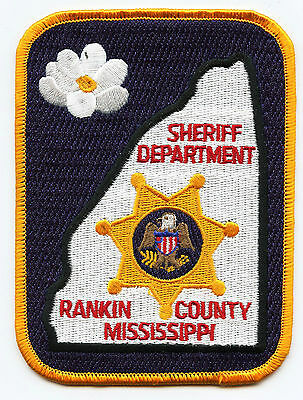 RANKIN COUNTY MISSISSIPPI MS full size large SHERIFF POLICE PATCH