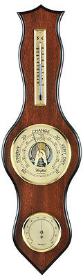 """Aneroid Barometer and Thermometer and Hygrometer 4"""" Dial"""