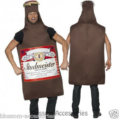 CL208 Studmeister Beer Bottle Funny Fancy Dress Stag Hens Night Party Costume