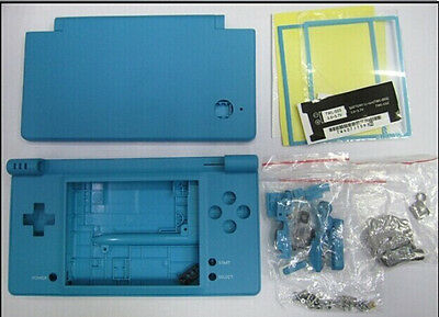 I Blue Full Housing Shell Case Cover Replacement Part Kit for Nintendo NDSI Dsi