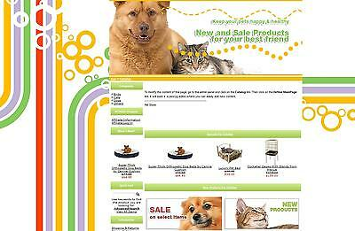 PET SUPPLIES STORE - Ready to Go Online Business - Ecommerce Shopping Cart