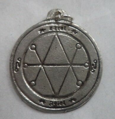 Saturn Seal of Protection Amulet / Talisman (Bad Luck Hexes Ritual Magick)