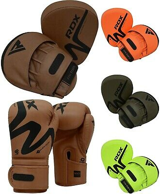 RDX Boxing Pads Training Gloves Focus Mitts MMA Muay Thai Punching Kickboxing