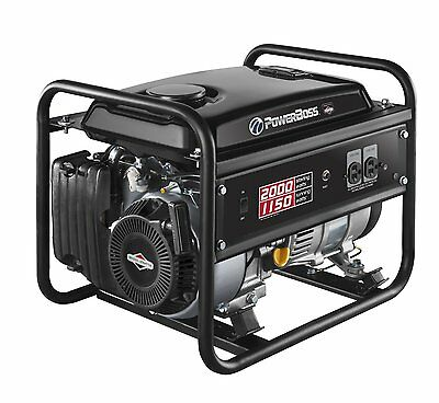 PowerBoss Portable Generator 1150 Watt Briggs and Stratton Engine #30627