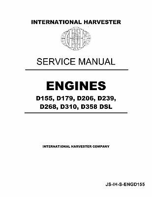 INTERNATIONAL HARVESTER DIESEL Pump 1 & 2 Plunger Service