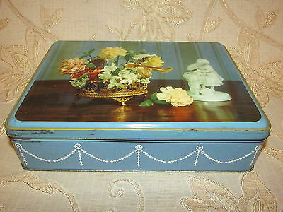 Large Vintage Collectable SK A Scribbans - Kemp Product Tin Box