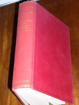 """RARE BULL TERRIER DOG BOOK BY DAY """"A FALCON ON ST PAULS"""" 1ST 1935 DOG FIGHTING"""