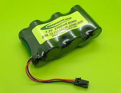 SS139 SANYO FDK 2700MA 7.2v BATTERY SUNRISE TELECOM  T10 METERS / MADE IN USA