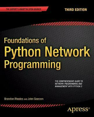 Foundations of Python Network Programming by Brandon Rhodes (English) Paperback