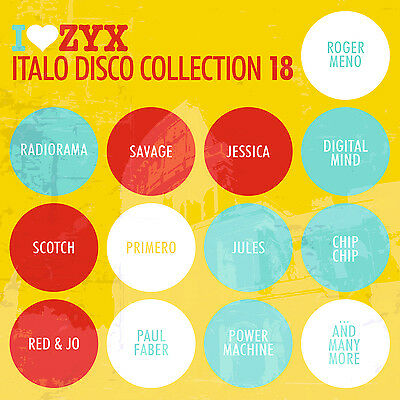 CD ZYX ITALO DISCO COLLECTION 18 by Various Artists