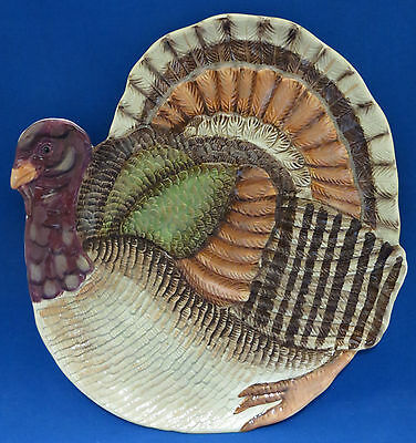 New Thanksgiving Turkey Plate Dish Department 56 Porcelain Holiday Serving