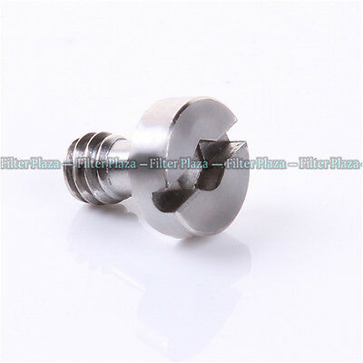 "Flat Hex Socket Head Stainless 1/4"" Screw for Camera Tripod Quick Release Plate"