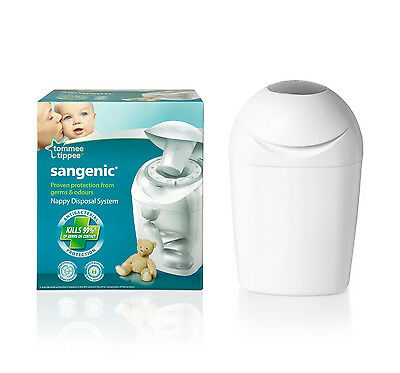 Tommee Tippee Sangenic DISPOSABLE SYSTEM Hygiene Nursery Diaper/Nappy Bin - New