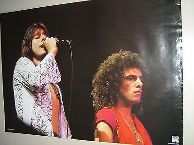 Journey / Live / Orig.Vintage poster / #RO-065 / Great new cond. / small rip