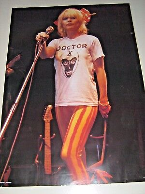Blondie / Orig. vintage 80's poster - # RO-049 / Exc.+ +new Cond. / Rare / 23x33