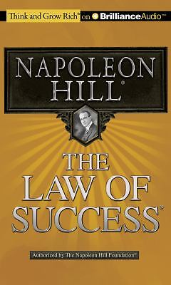 The Law of Success by Napoleon Hill (2012, CD, Abridged)
