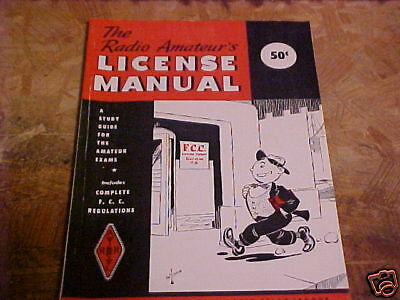 1957 THE RADIO AMATEUR'S LICENCE MANUAL STUDY GUIDE