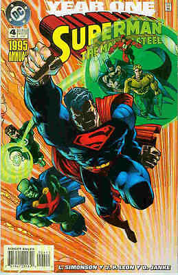 Superman: Man of Steel Annual # 4 (Year One) (USA, 1995)