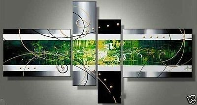 Modern Handmade abstract Huge Art Decor wall Canvas Oil Painting (No Frame)