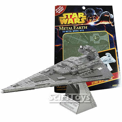 Star Wars SERIES 2 Metal Earth STAR DESTROYER 3D Steel Metal DIY Model Kit