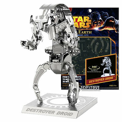 New Star Wars Metal Earth DROID DESTROYER 3D Steel Metal DIY Model Kit