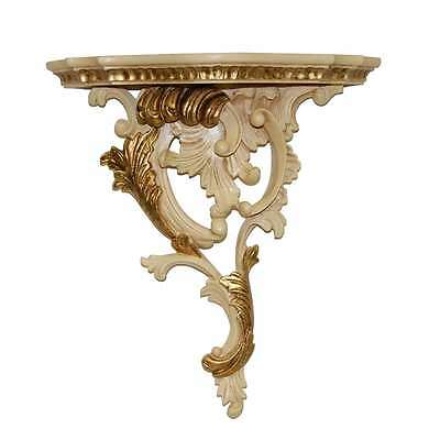 Hickory Manor Left Renaissance Bracket/Ivory Gold - 6742IVG
